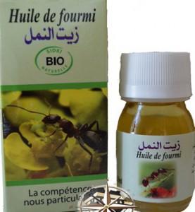 huile de fourmies