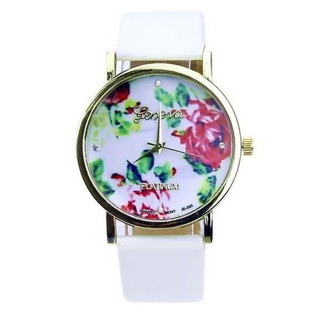 acheter une jolie montre fleurie pour l 39 t moins de 2. Black Bedroom Furniture Sets. Home Design Ideas